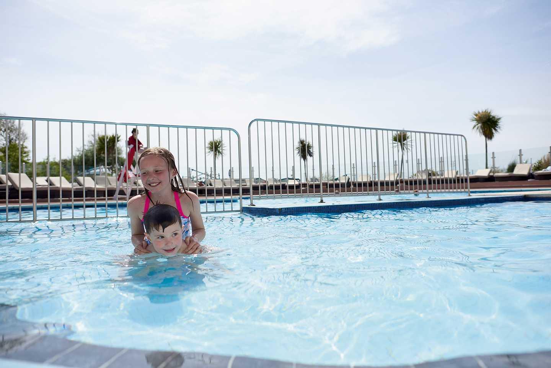 Outdoor pool at Littlesea