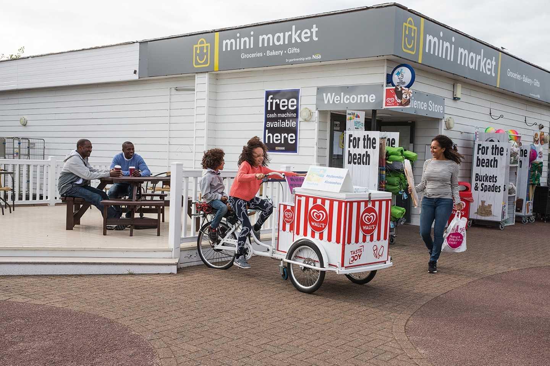 The Mini Market at Seashore Holiday Park