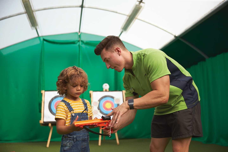 Mini Archery at Hopton