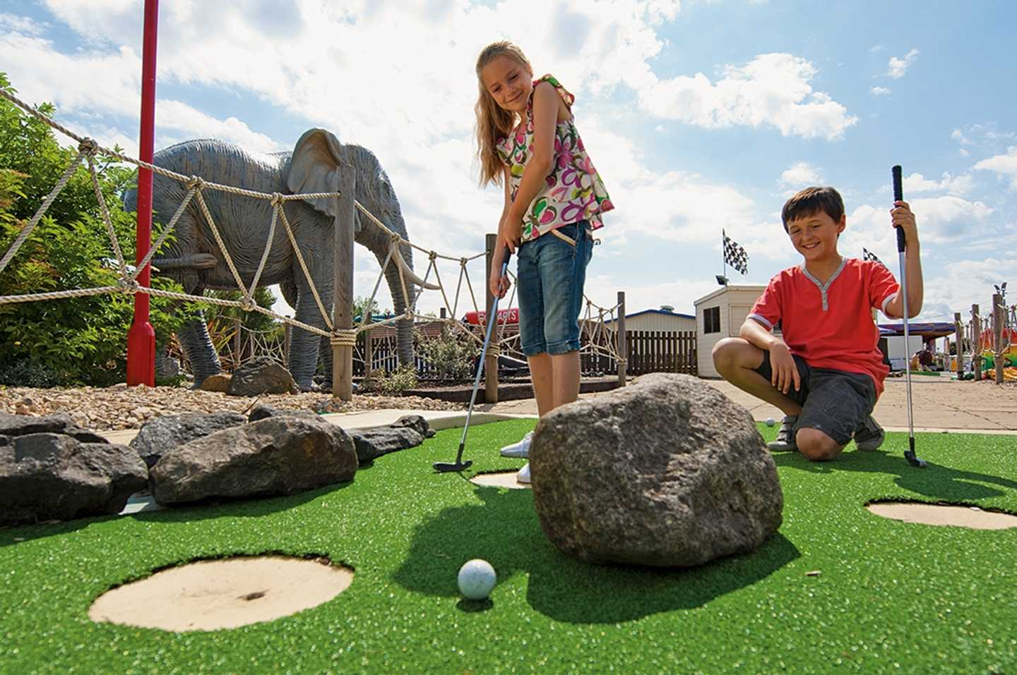 Crazy Golf at Golden Sands