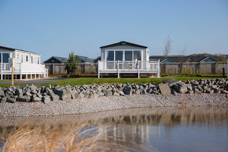 Platinum with decking at Seabirds, Primrose Valley