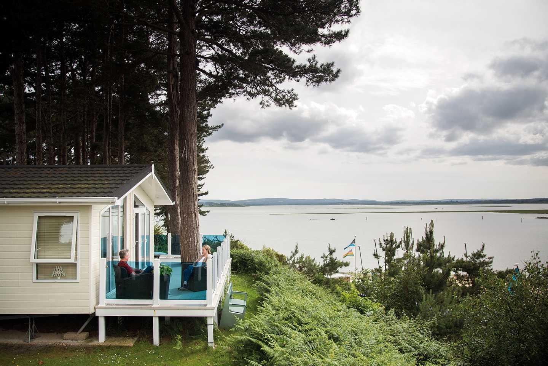 Sea facing holiday homes to let at Rockley Park
