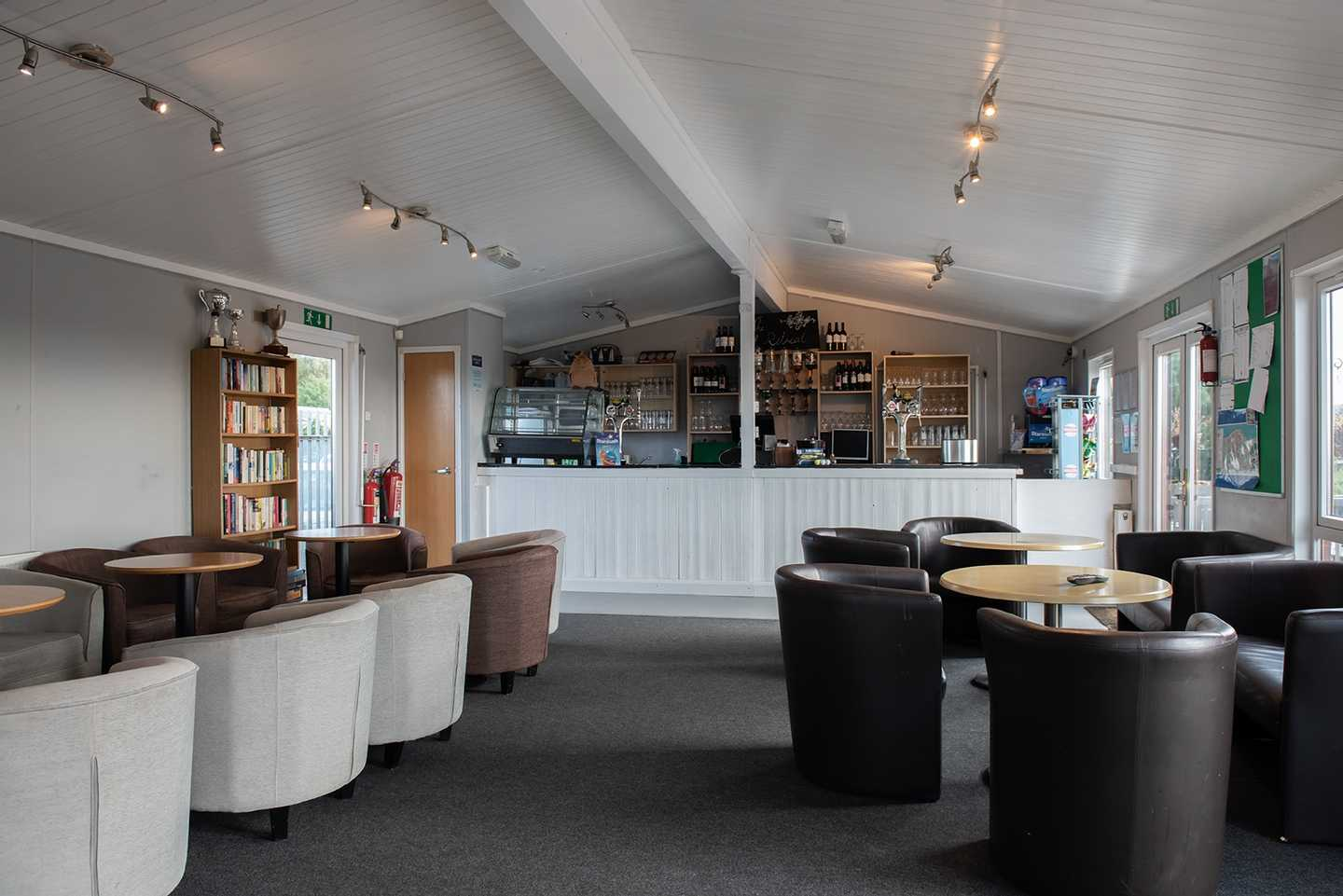 Owners' lounge at Allhallows Leisure Park