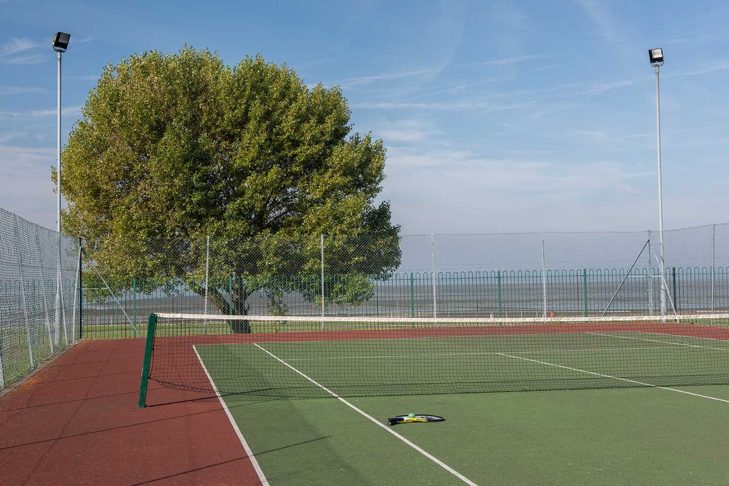 Tennis courts at Allhallows Leisure Park