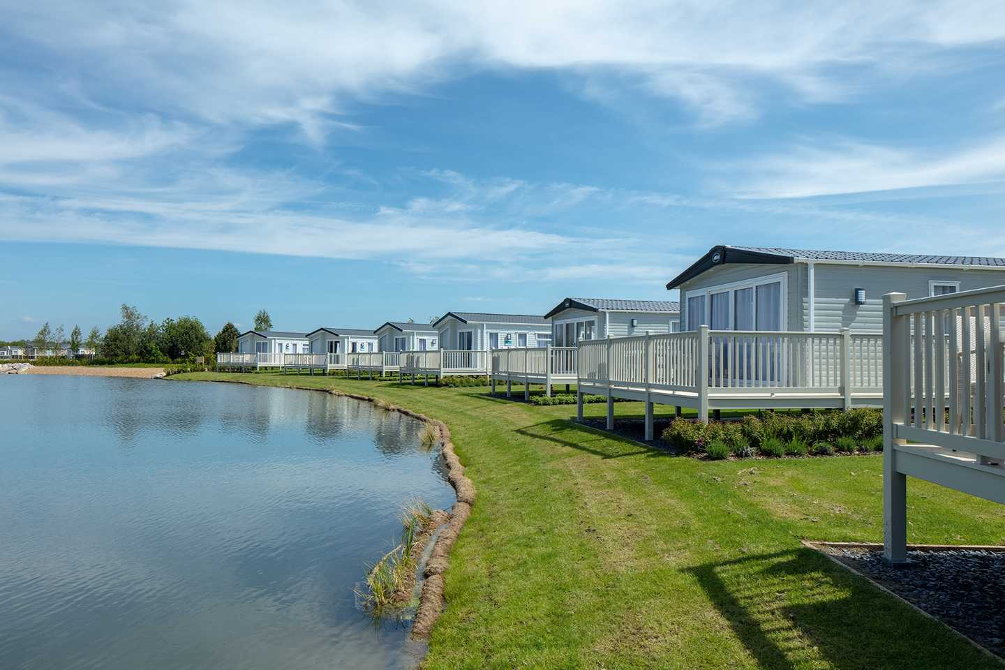 Platinum caravans at Lakeland