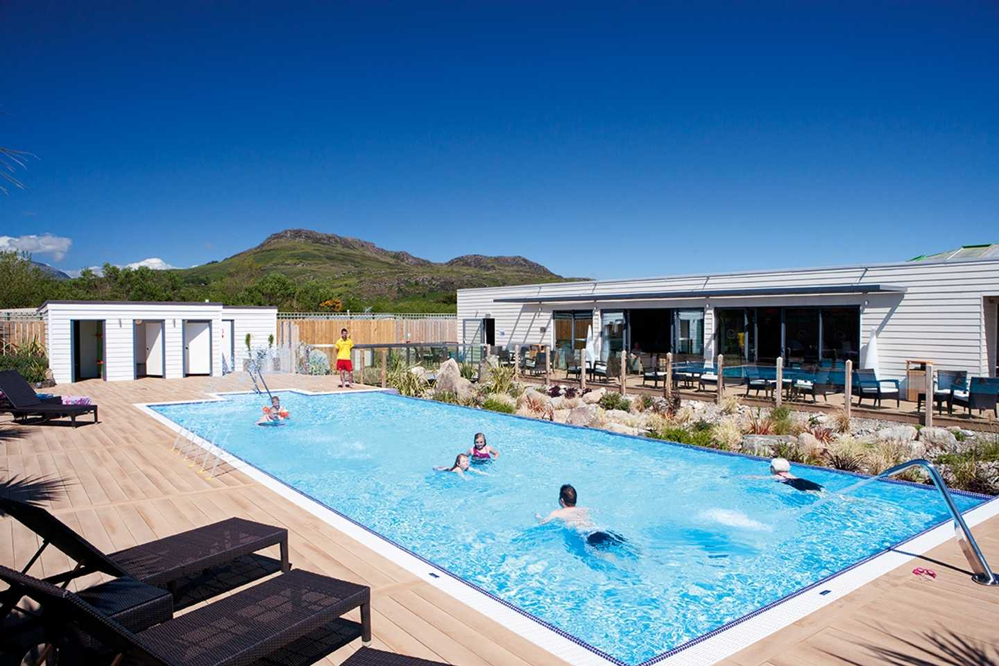 Outdoor pool exclusive for owners at Greenacres