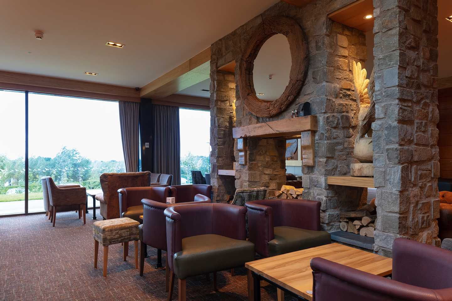 Interior of the Owners' Lounge at Seton Sands