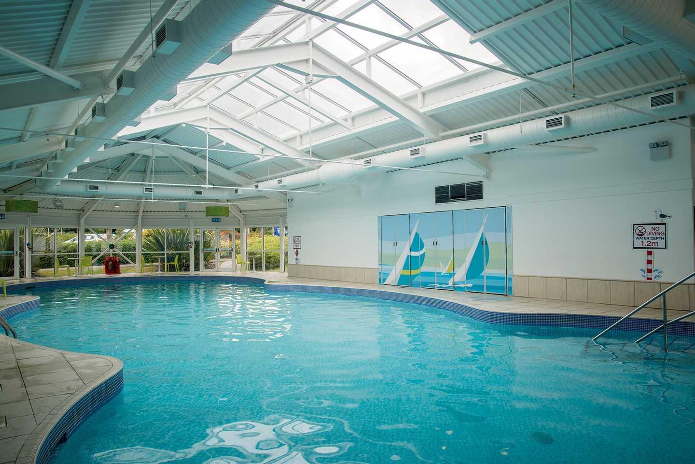 Indoor pool at Weymouth Bay