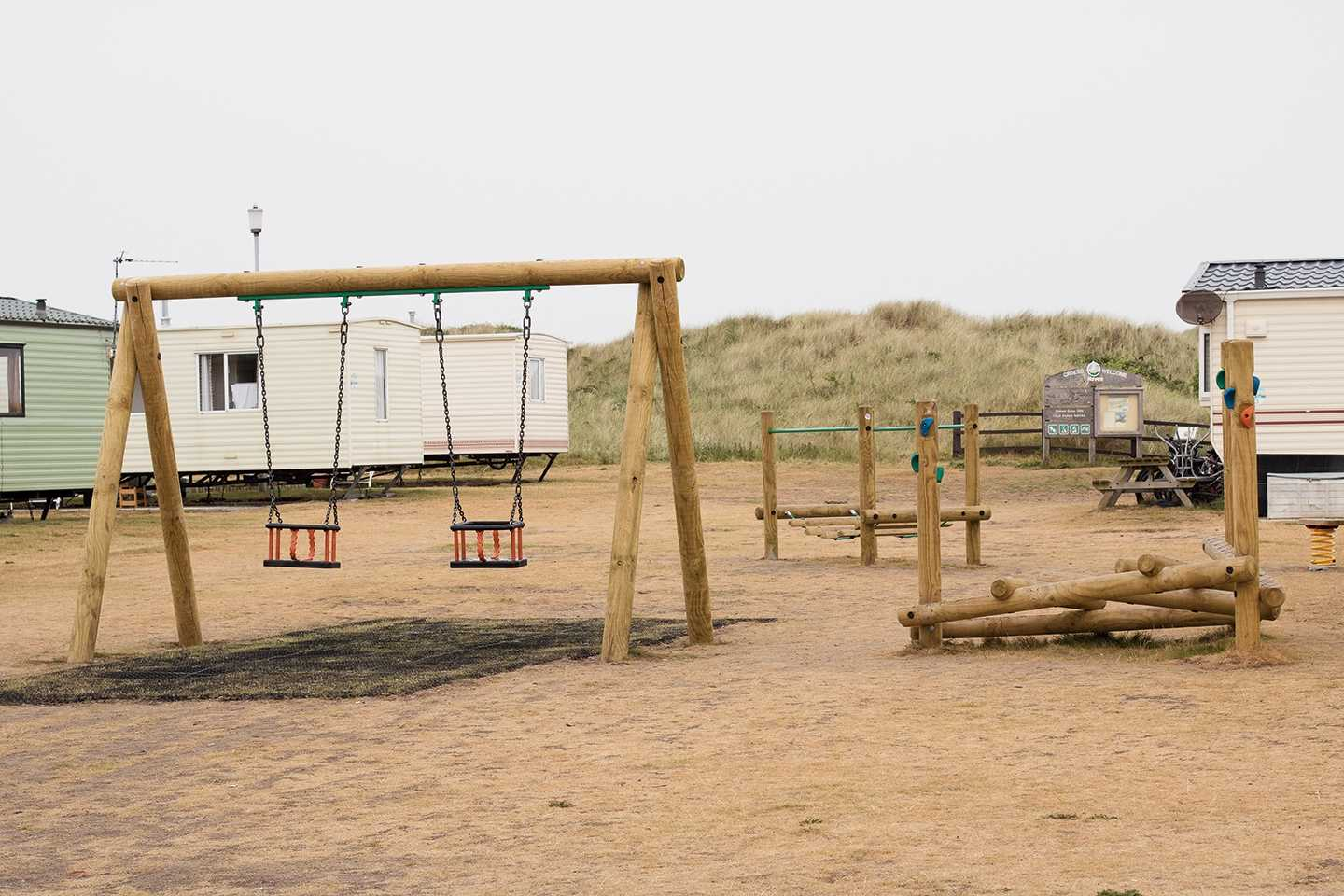 Play area at Presthaven Beach Resort