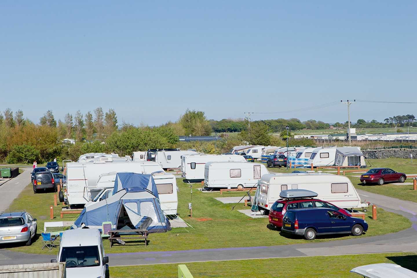 The touring area at Presthaven