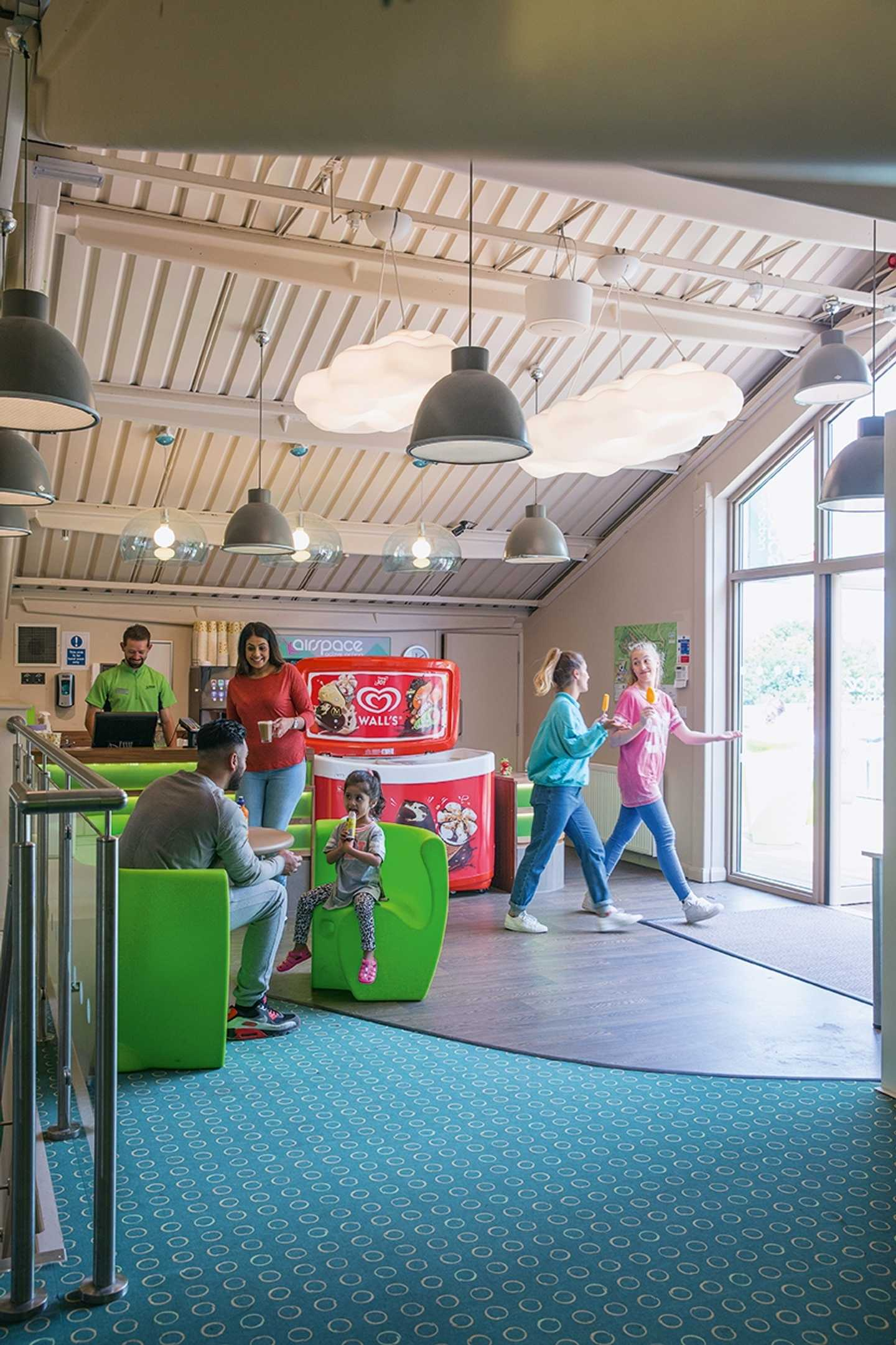 Kids in the Airspace reception