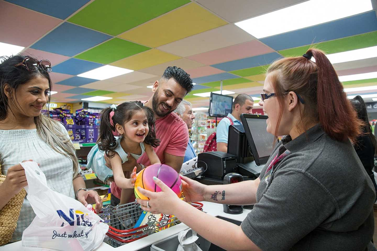 Guests in the Nisa Local