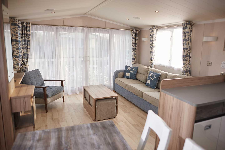 Representation of a Platinum Caravan lounge