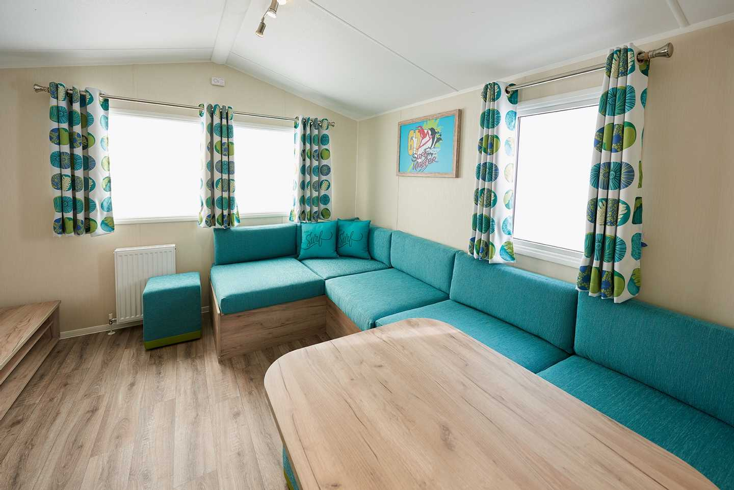 Interior of a Standard accommodation grade at Haven