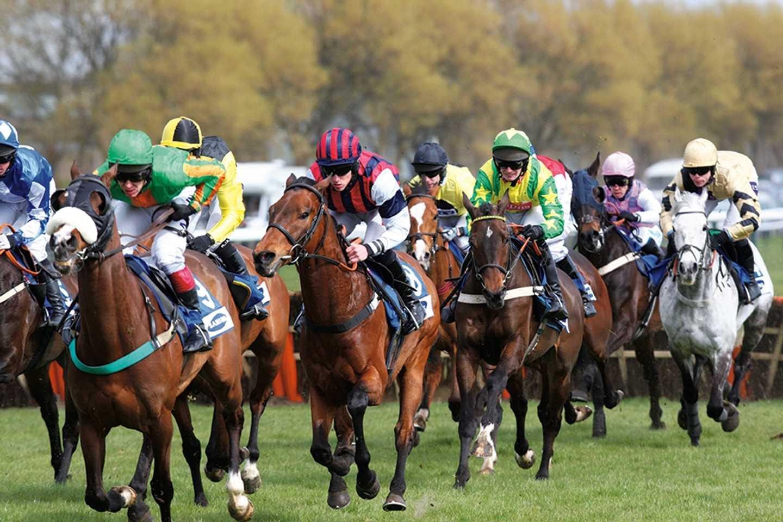 Ayr Racecourse in Dumbartonshire, Scotland