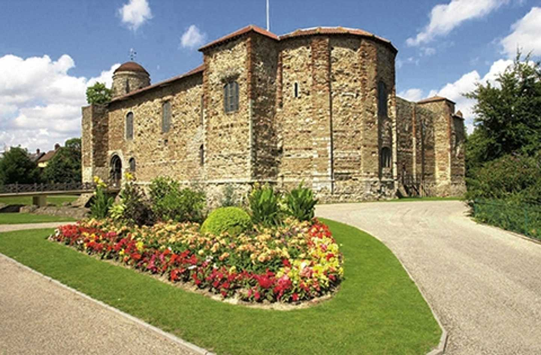 Exterior of Colchester Castle