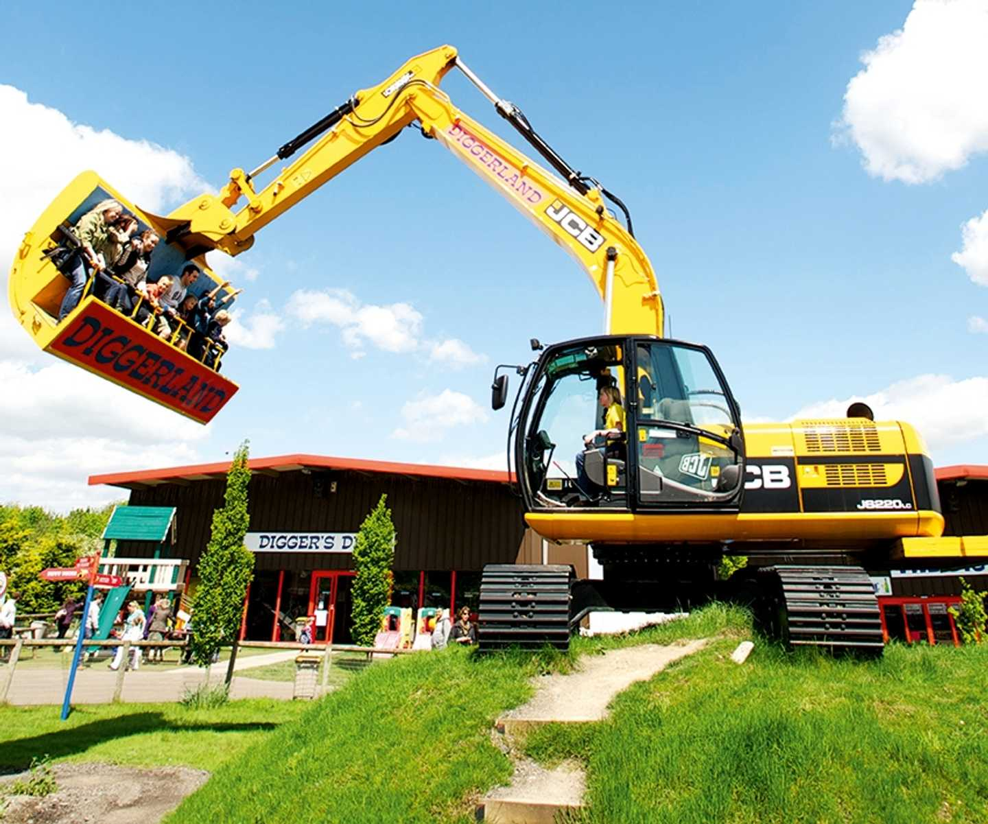 The spindizzy ride at Diggerland