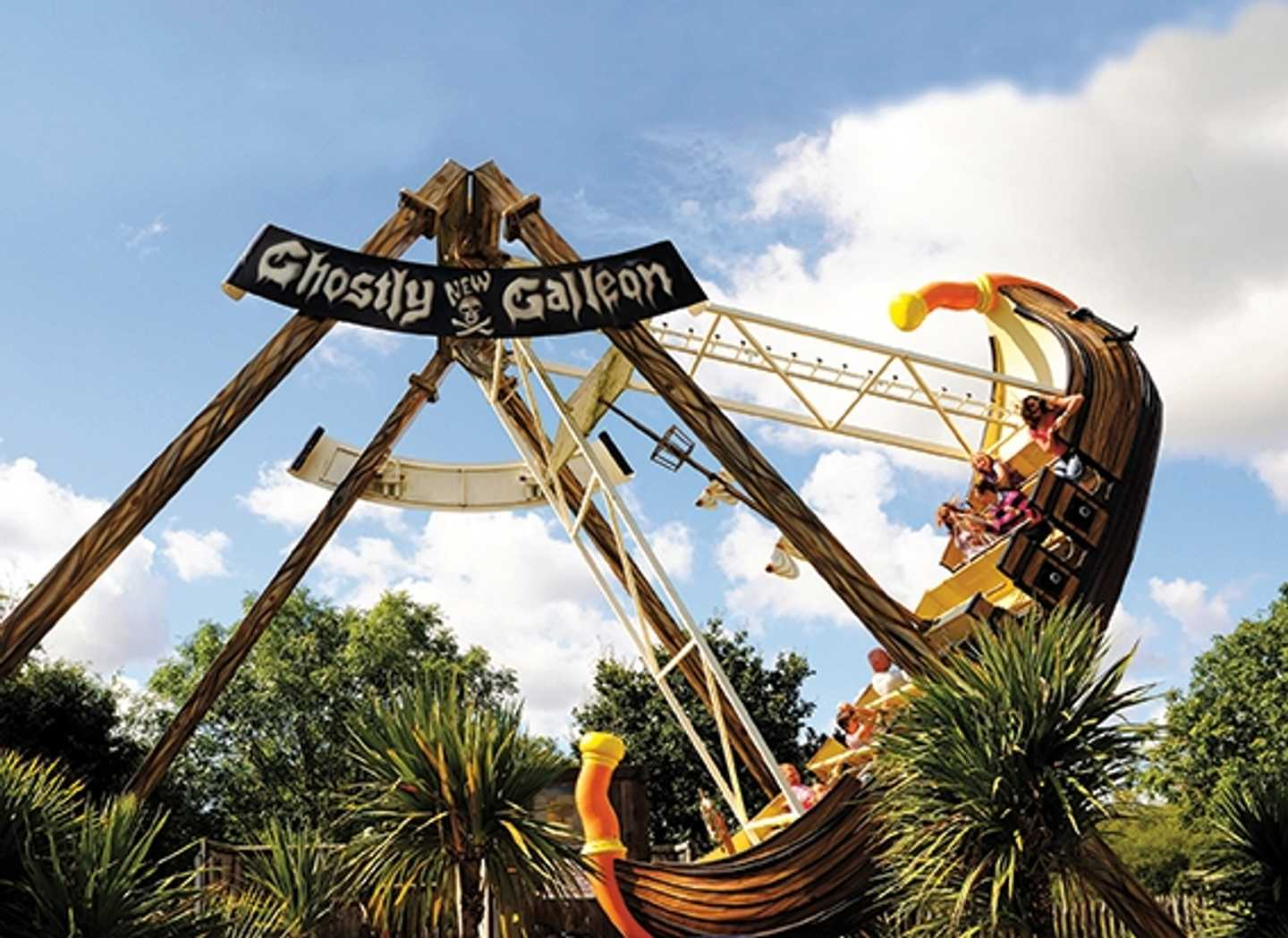 Ride the Ghostly Galleon at Adventure Wonderland