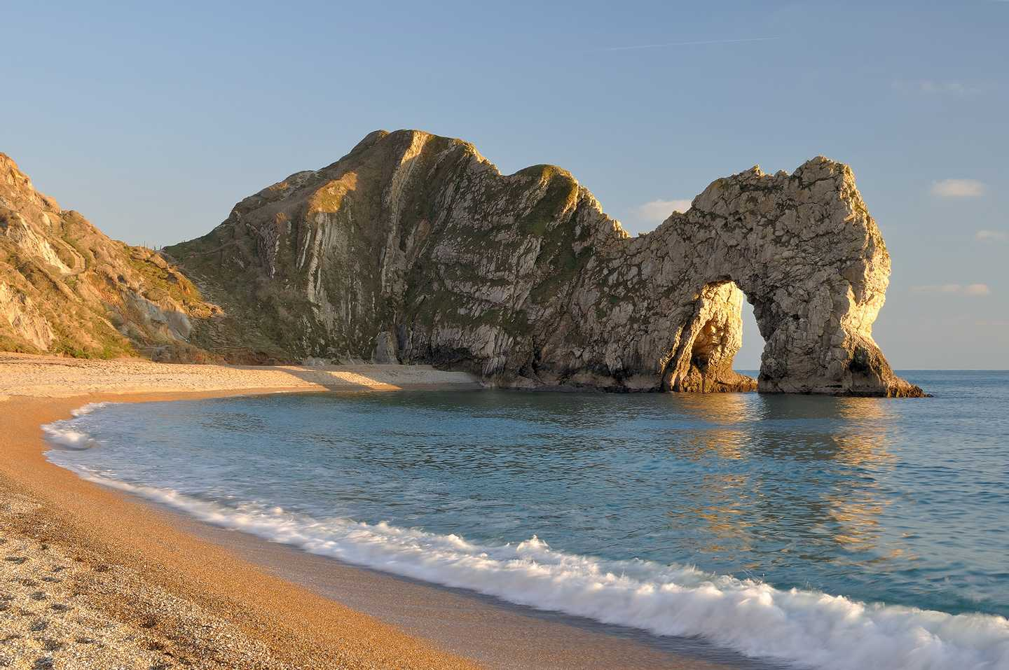 world famous stone arch, Durdle Door