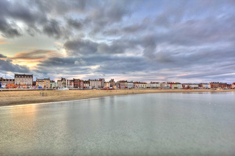 Weymouth beach seafront