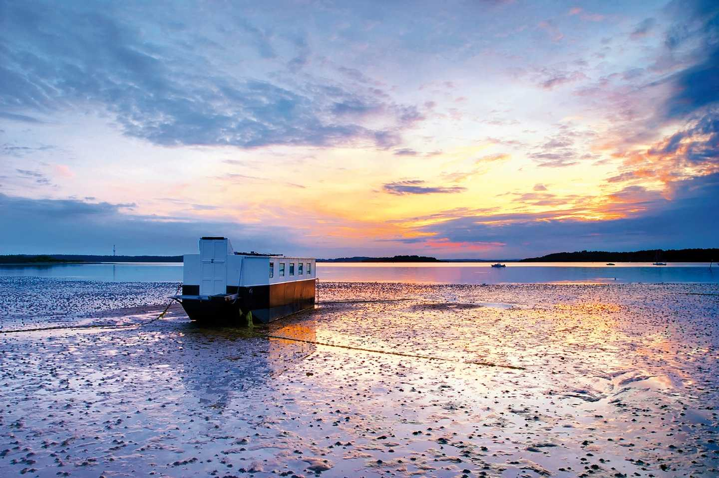 Sunset at Poole Harbour & Quay
