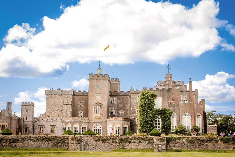 Powderham Castle in Devon