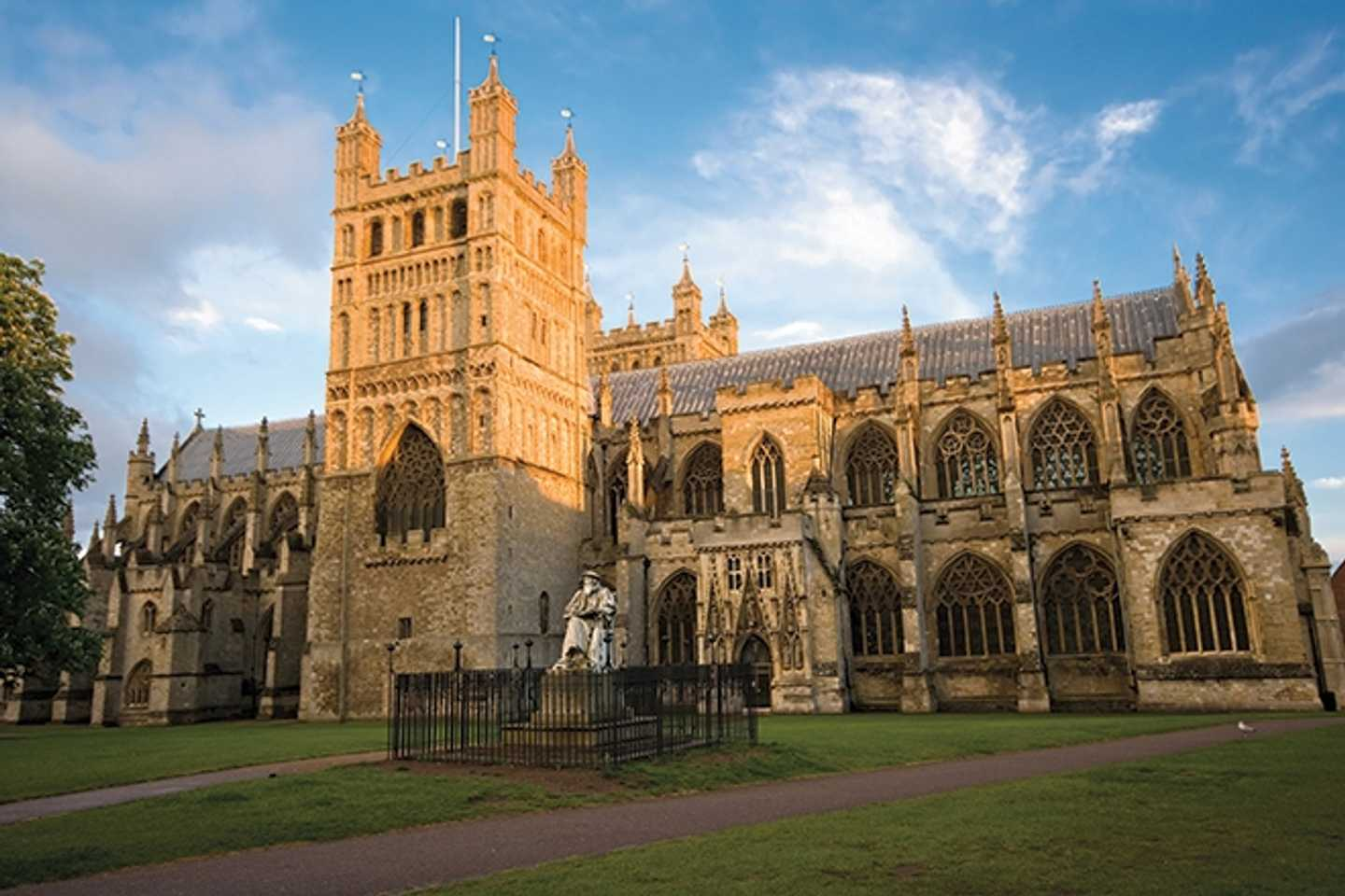 Exterior of Exeter Cathedral