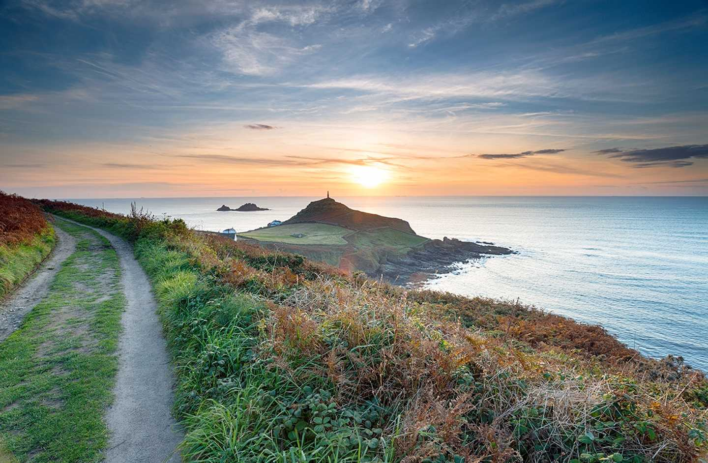 A beautiful sunset at Land's End