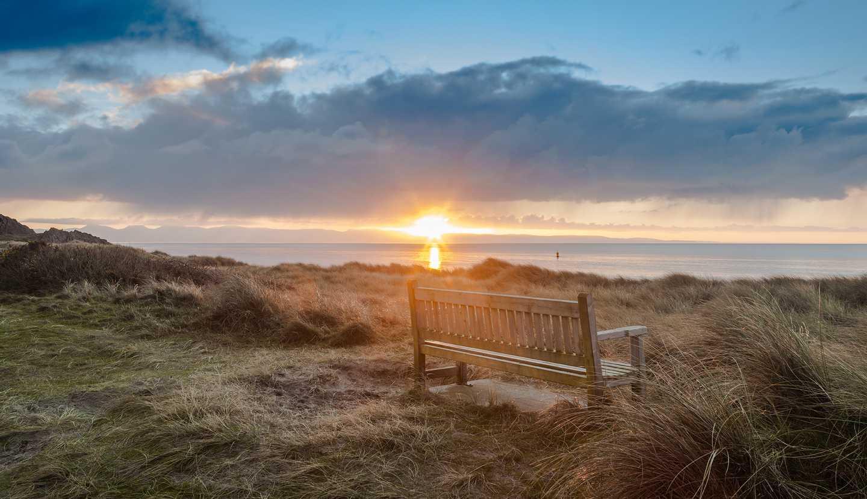 Sunrise at Pwllheli Beach
