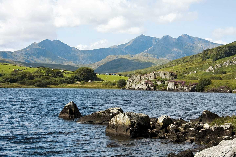 Picturesque view of Snowdonia