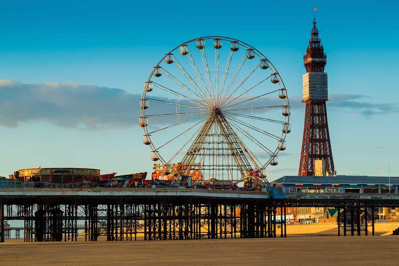 Blackpool Central Pier skyline