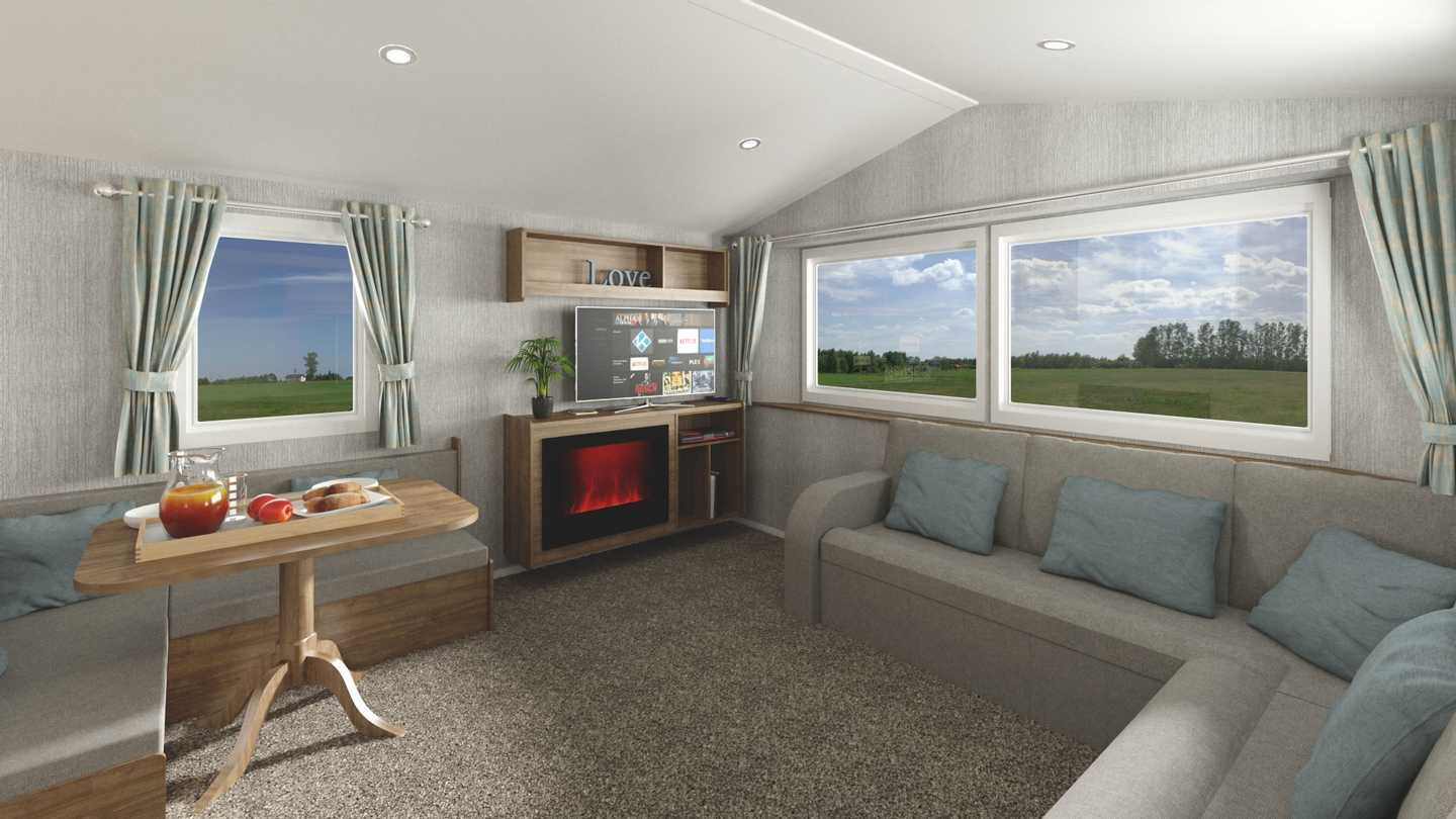 Willerby Seasons caravan lounge