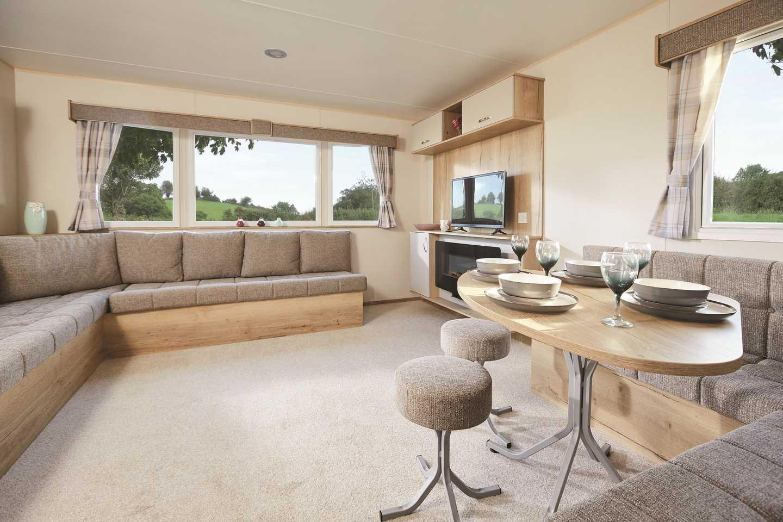 ABI Horizon caravan lounge