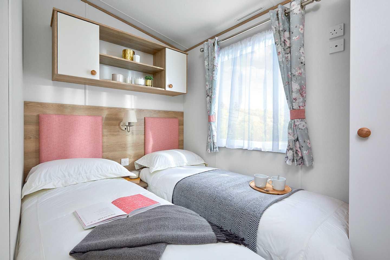 Willerby Sierra bedroom