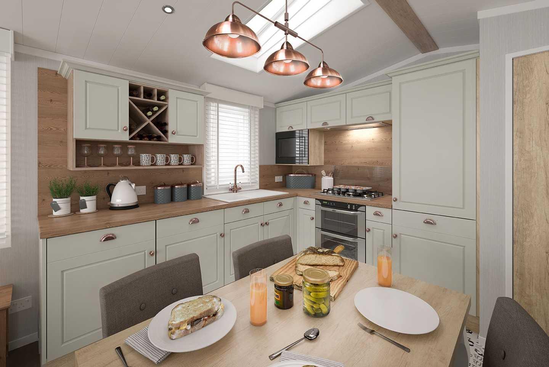 Swift Vendee Kitchen
