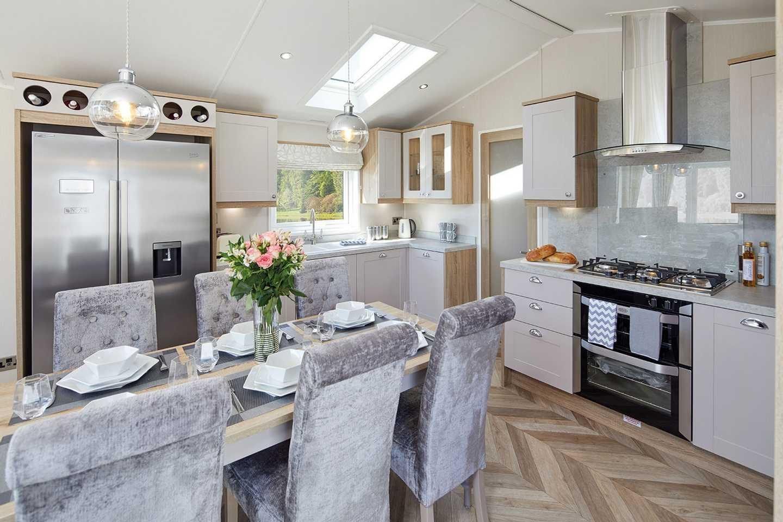 Willerby Vogue Classique kitchen