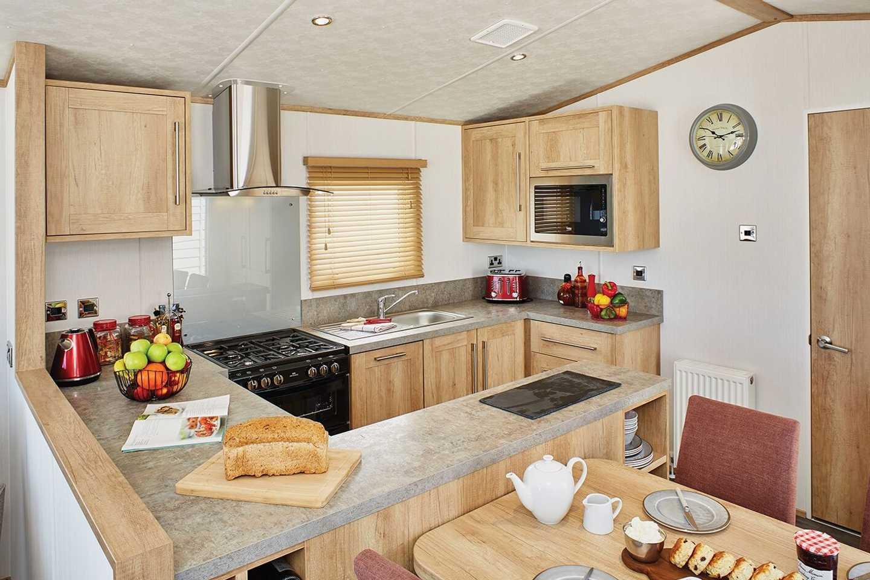 Carnaby Glenmoor Lodge kitchen