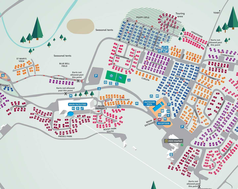 Map of Kiln Park