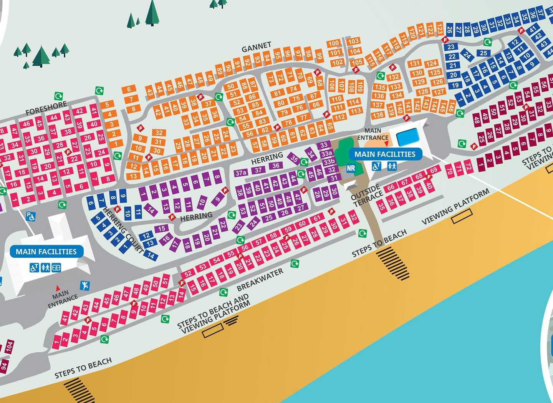 Map of Seashore