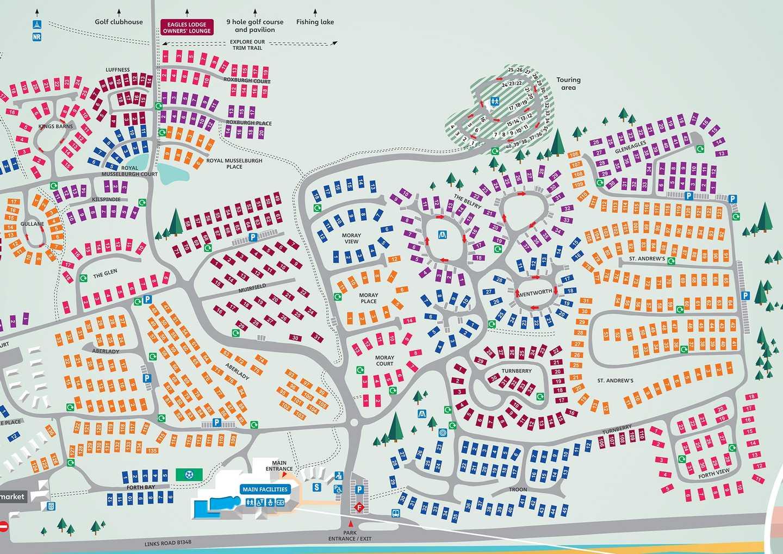 Map of Seton Sands