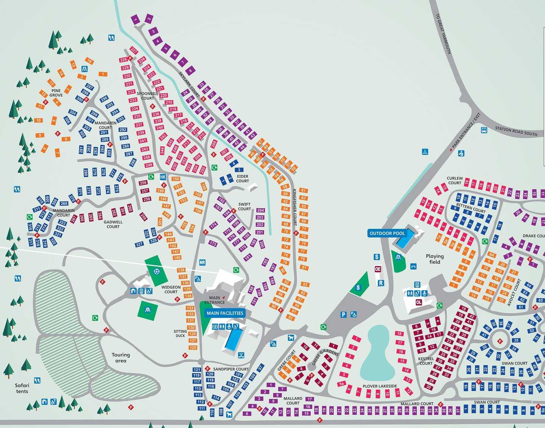 Map of Wild Duck