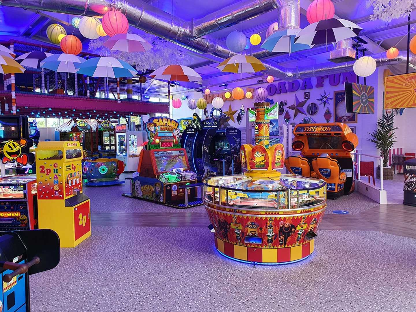 NEW Oodles family amusements centre