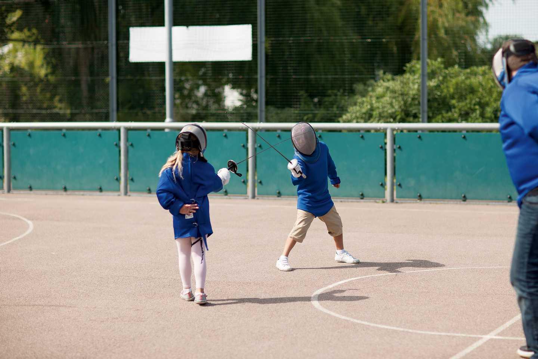 Fencing coaching