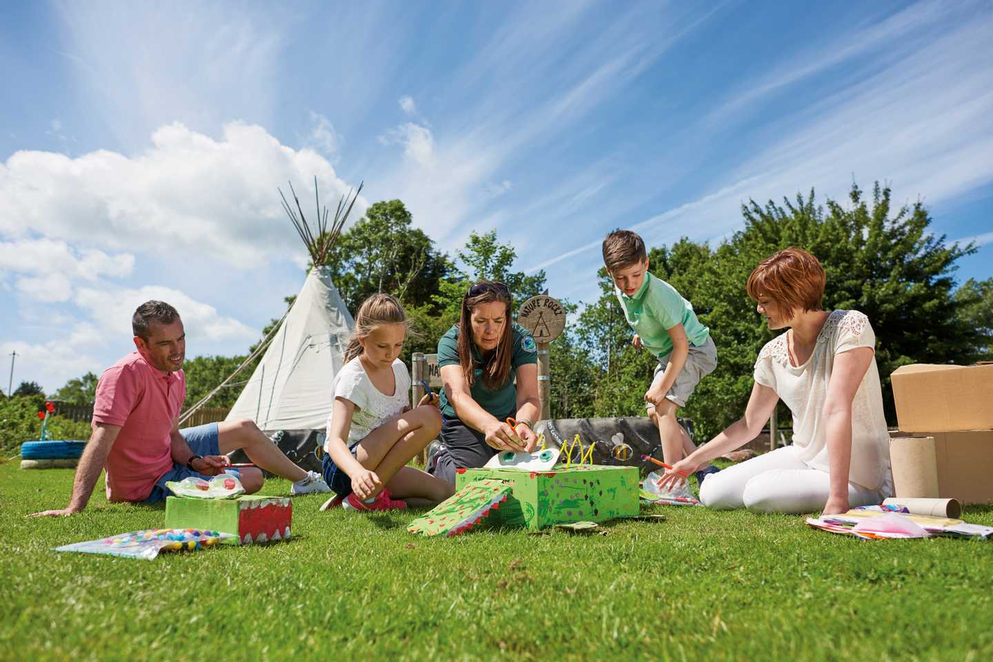 Nature Rockz activities in the great outdoors at Kiln Park
