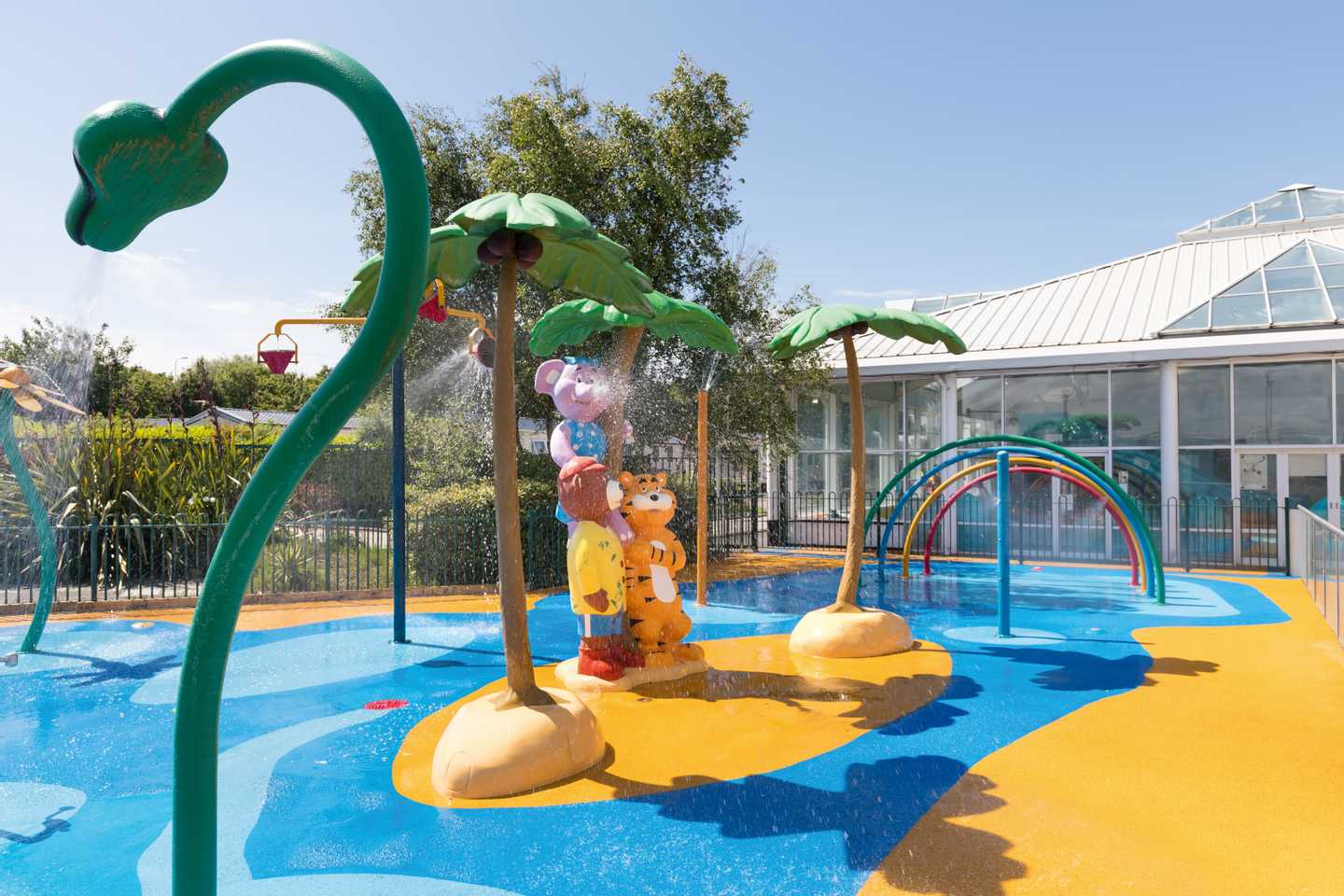 Outdoor SplashZone with water features