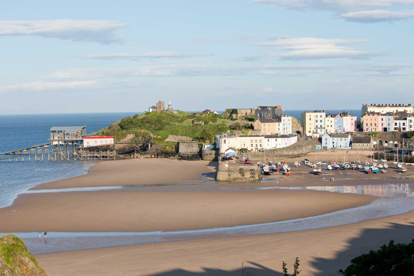 Nearby Tenby beach