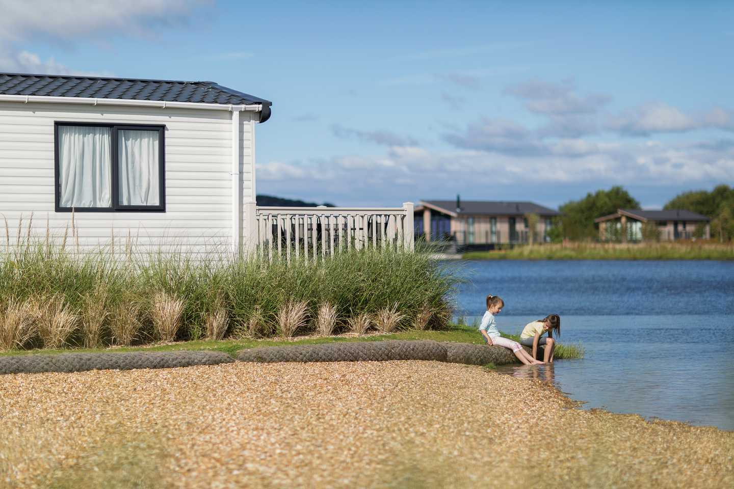 Accommodation with a lake view at Lakeland