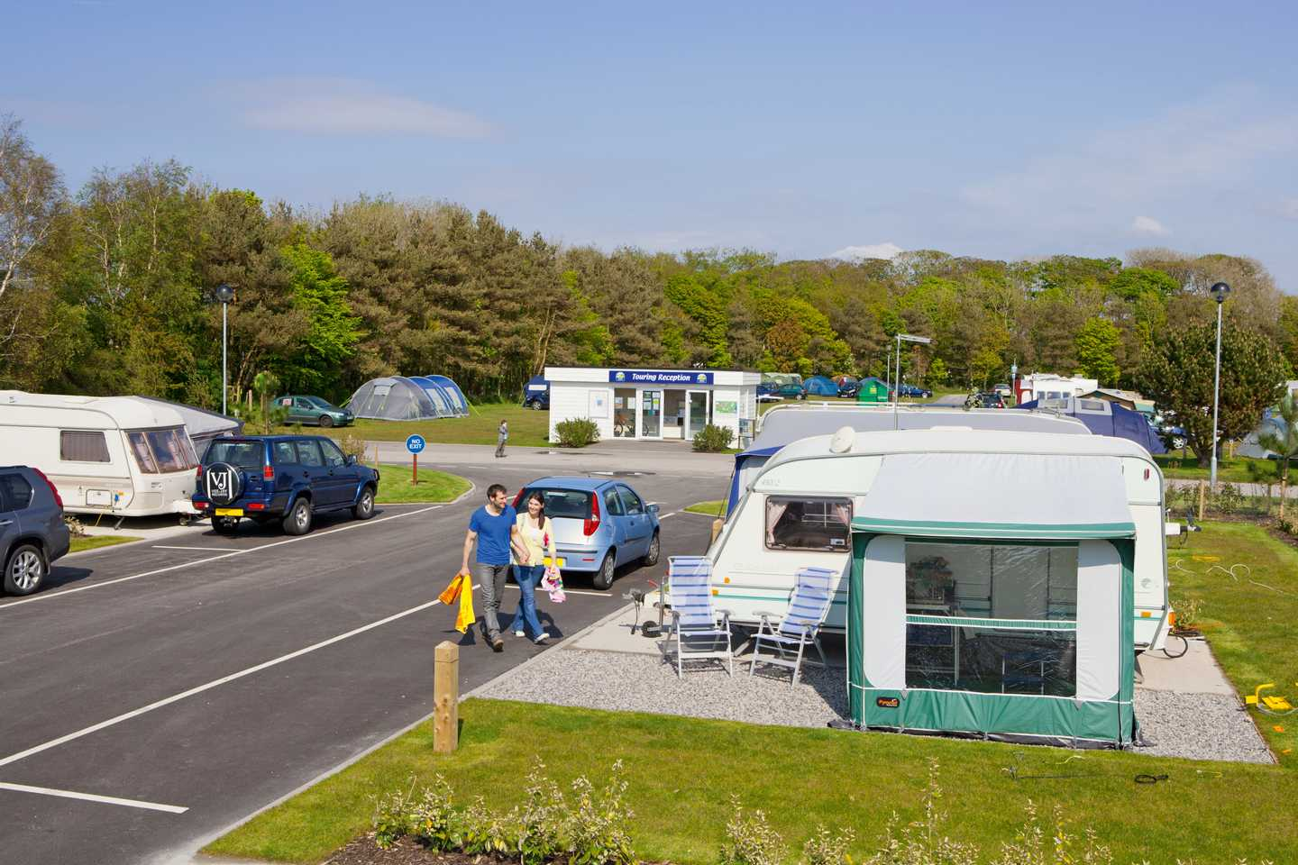 The touring area at Lakeland