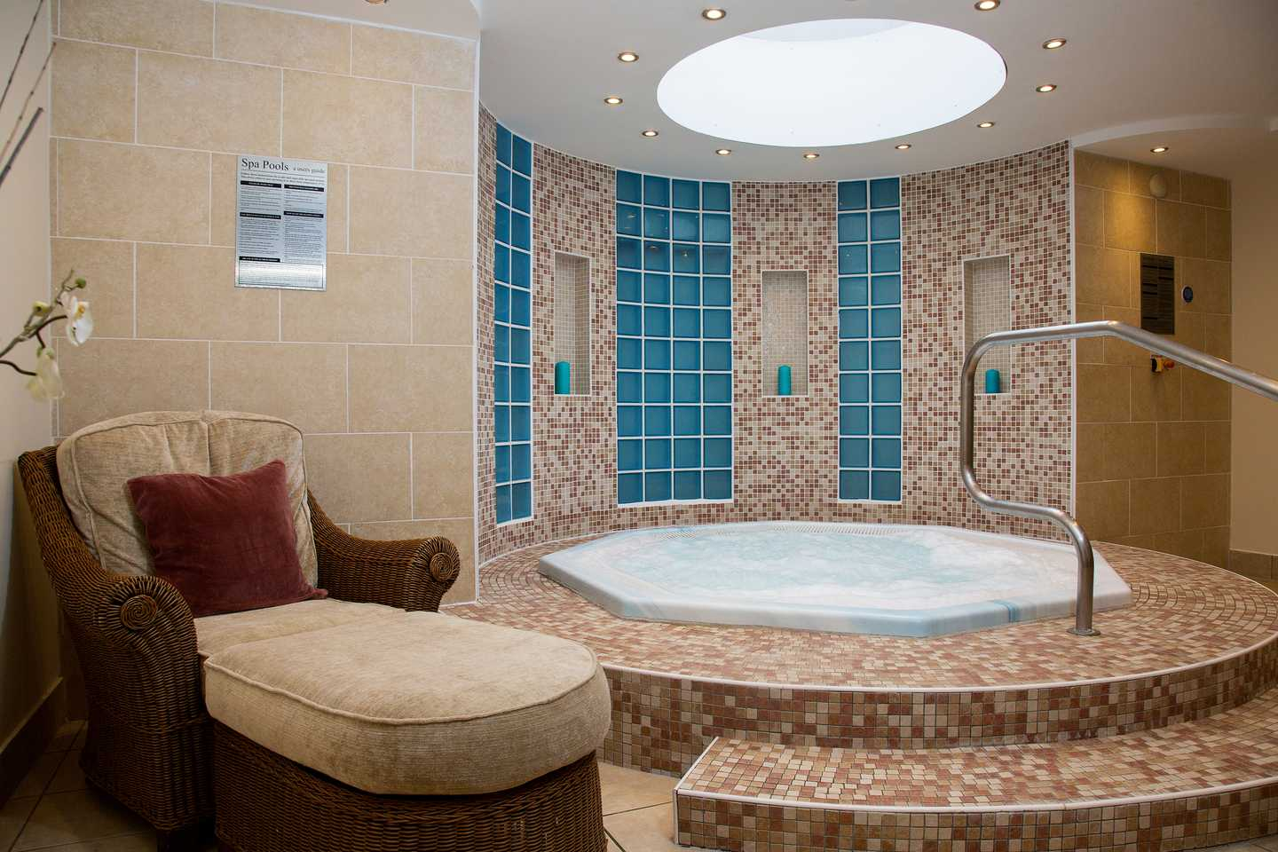 The spa at Rockley Park