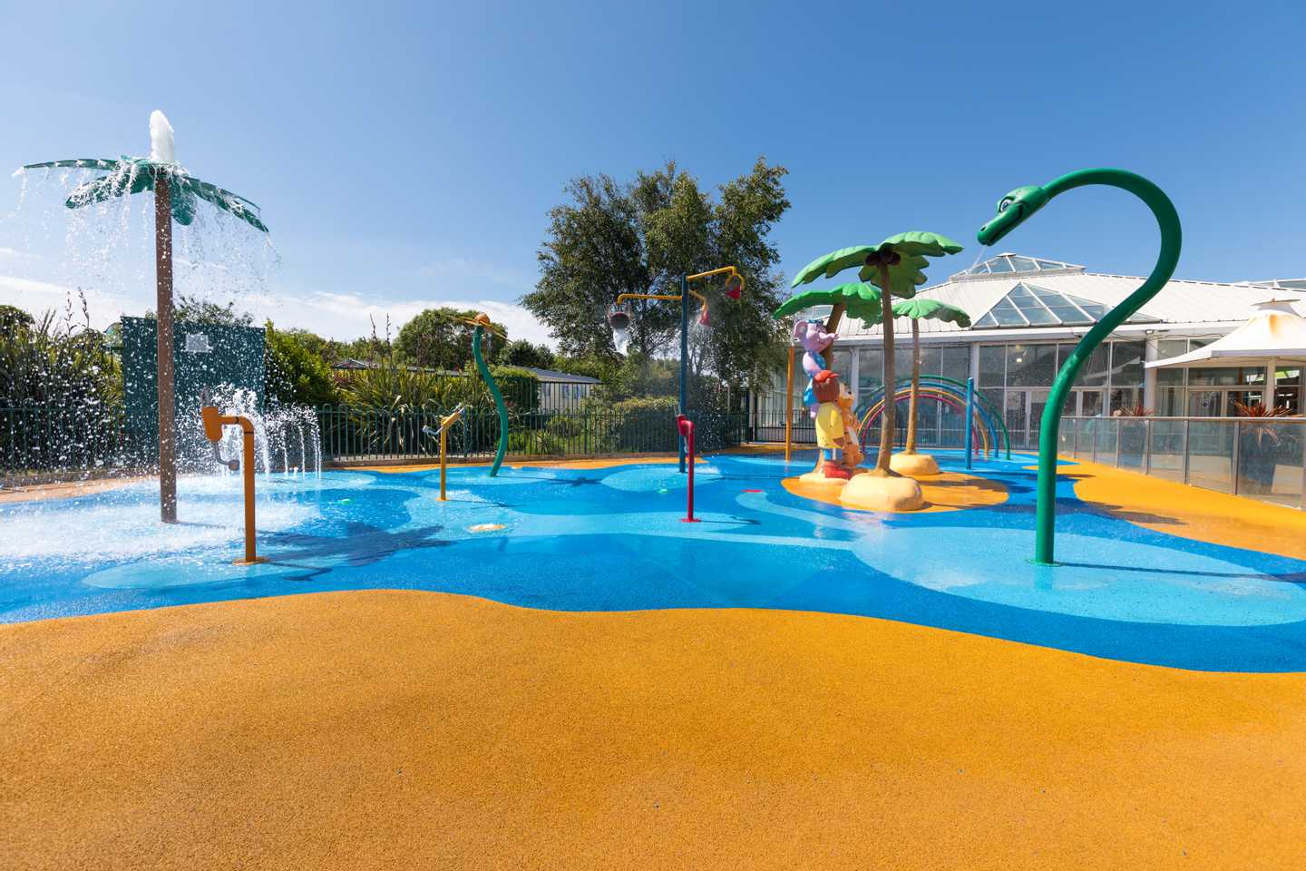 Outdoor SplashZone at Cala Gran Holiday Park
